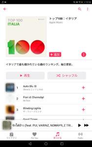 Apple Musicで聴けるイタリアの音楽