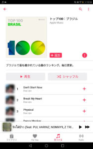 Apple Musicで聴けるブラジルの音楽