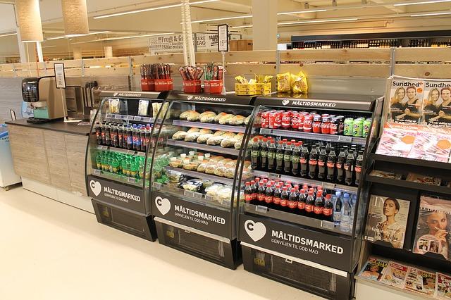 スーパーマーケットのアルバイト
