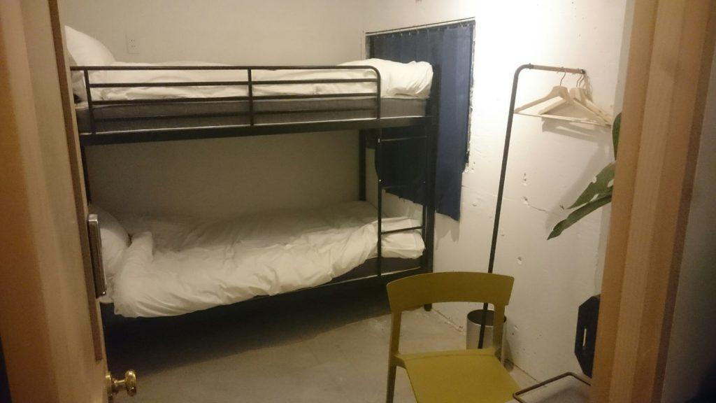 下北沢Hostelのツインルーム