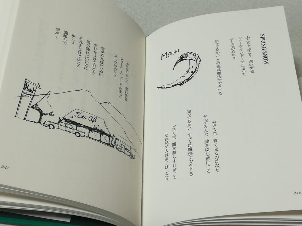 浅井健一さんの本「宇宙の匂い」の中身